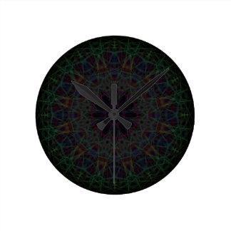 Rainbow Cathedral Mandala Clock
