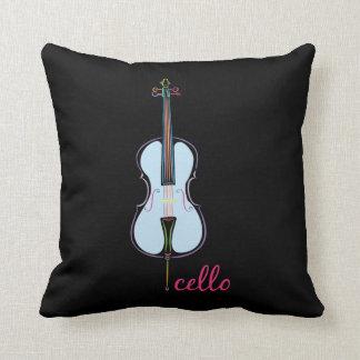 Rainbow Cello Cushion