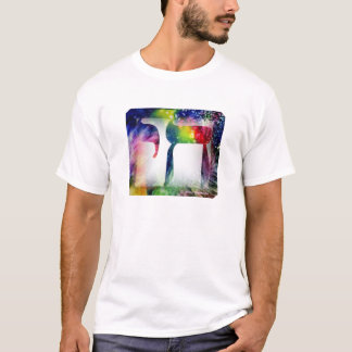 Rainbow Chai - Life in Hebrew T-Shirt