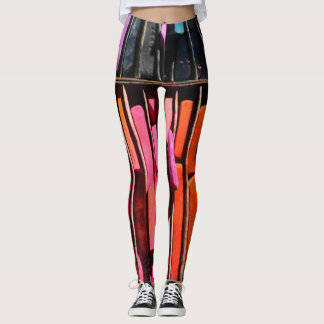 Rainbow Chalk tights