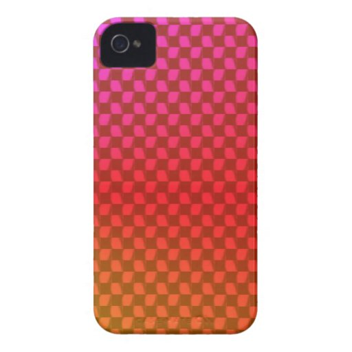 Rainbow Checkers Blackberry Bold Case