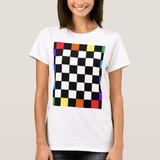 Rainbow Chequerboard CricketDiane T-Shirt