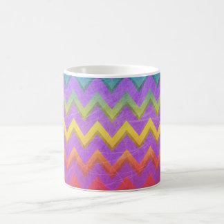 Rainbow Chevron by Shirley Taylor Coffee Mug