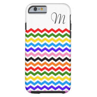 Rainbow Chevron iphone 6 Case