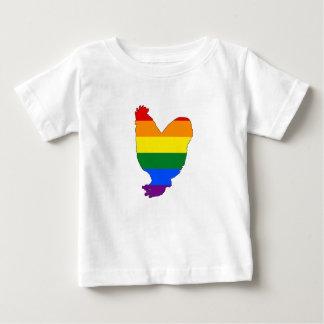 Rainbow Chicken Baby T-Shirt