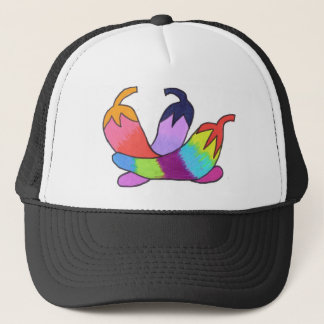 Rainbow Chili Peppers Trucker Hat