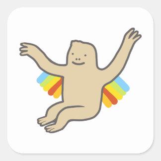 Rainbow Chimp sticker