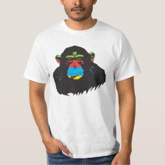 Rainbow chimp. T-Shirt