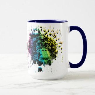 Rainbow Chimpanzee Mug