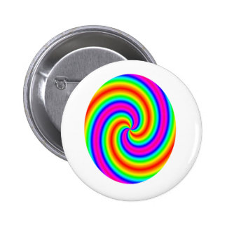 Rainbow Circle Button