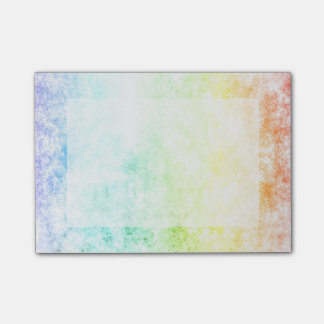 Rainbow Cloud Background Customize or Stay Cloudy Post-it® Notes