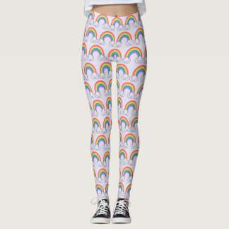 RAINBOW & CLOUD Leggings