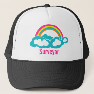 Rainbow Cloud Surveyor Trucker Hat