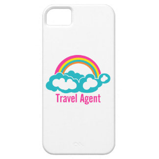 Rainbow Cloud Travel Agent iPhone 5 Covers