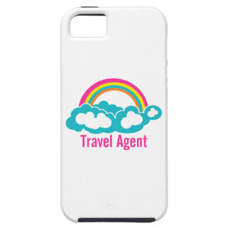 Rainbow Cloud Travel Agent iPhone 5 Cases
