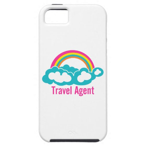 Rainbow Cloud Travel Agent iPhone 5 Cases