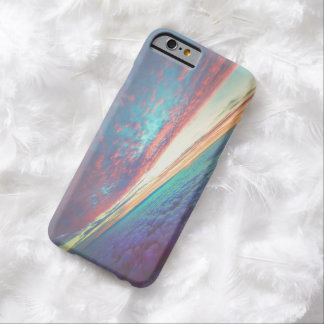 Rainbow Clouds Barely There iPhone 6 Case