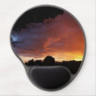 Rainbow Clouds Gel Mouse Pad