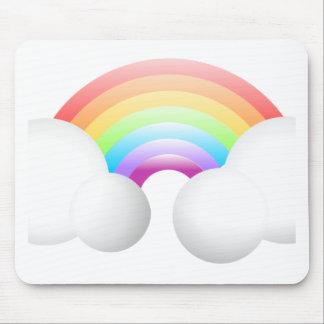 Rainbow Clouds Mousepad