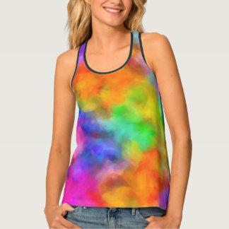 Rainbow Clouds Singlet