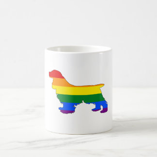 Rainbow Cocker Spaniel Coffee Mug