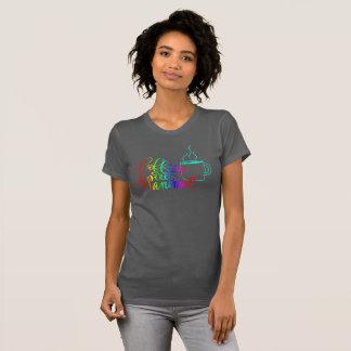 Rainbow Coffee is my Spirit Animal Tshirt