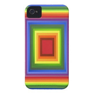 Rainbow Color Abstract Art iPhone 4 Covers