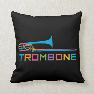 Rainbow Color Trombone Cushion
