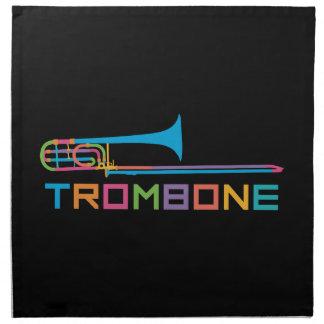 Rainbow Color Trombone Napkin