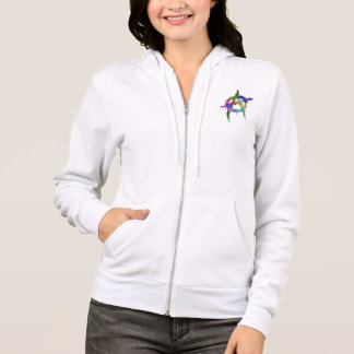 Rainbow Colored Anarchy Symbol Hoodie