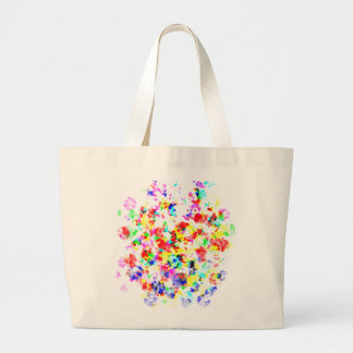 Rainbow Colored Awesome Items Canvas Bags