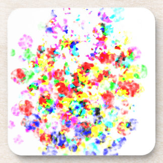 Rainbow Colored Awesome Items Drink Coasters