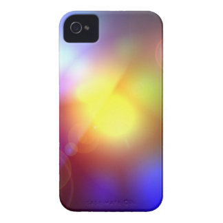 Rainbow Colored Lens Flare iPhone 4 Cover