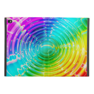 Rainbow Colored Ripple iPad Mini 4 Case