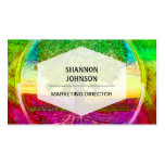 Rainbow Colored Tree of Life Business Card Template