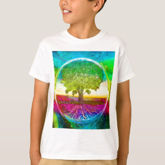 Rainbow Colored Tree of Life T-Shirt