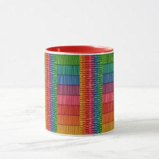 Rainbow Colorful Two-Tone Mug