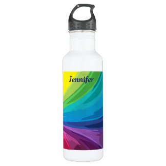 Rainbow Colors 710 Ml Water Bottle