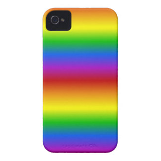 Rainbow Colors custom Blackberry Bold case