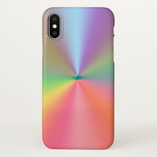 rainbow colors design iPhone x case