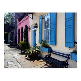 Rainbow Colors in Charleston, South Carolina Postcard