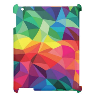 Rainbow colors ipad case