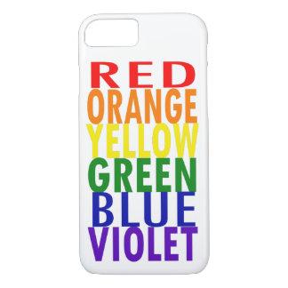 Rainbow Colors iPhone 8/7 Case