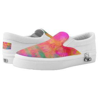 Rainbow Colors Love Is Love Pattern Slip On Shoes