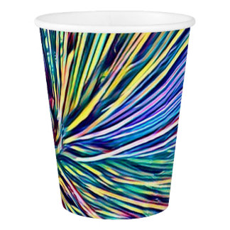 Rainbow Colors Plant Funky Paper Cup