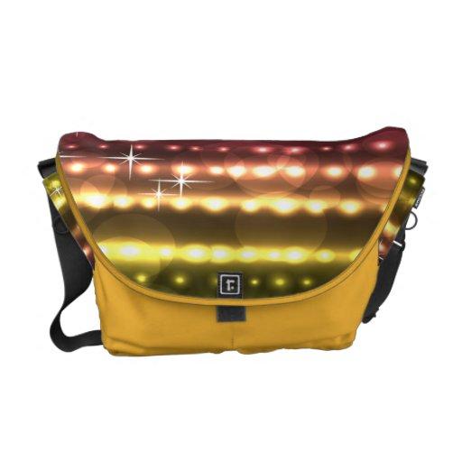 Rainbow Colors Rickshaw Medium Zero Messenger Bag