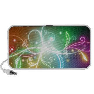 Rainbow colors PC speakers