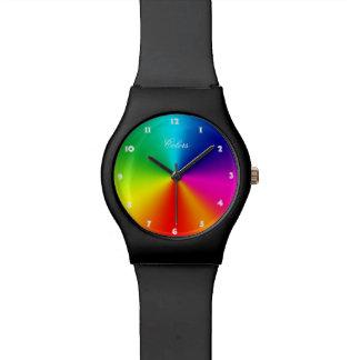 Rainbow Colors Watch