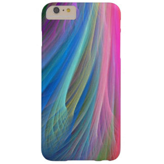 Rainbow Colour Feather Design Barely There iPhone 6 Plus Case