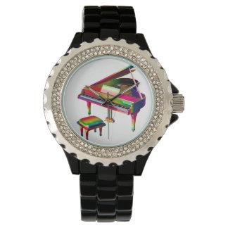 Rainbow Coloured Piano Watch